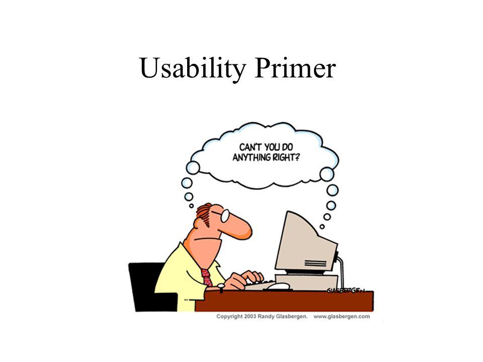 Usability Primer