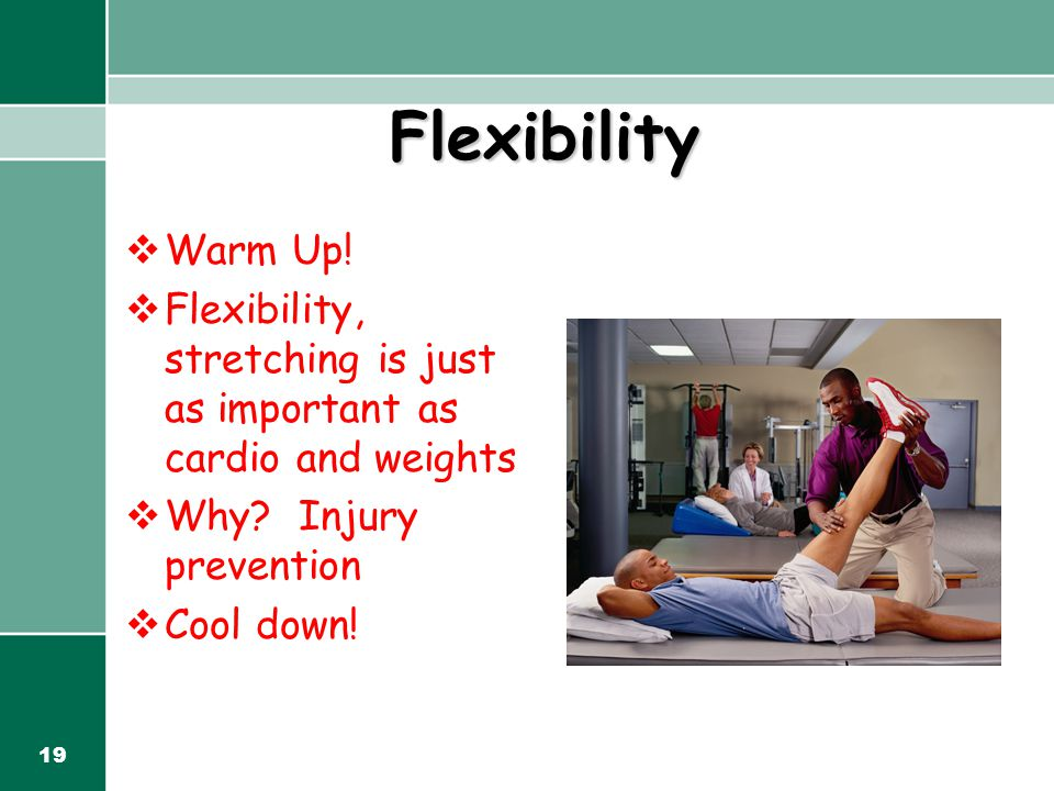 19 Flexibility  Warm Up.