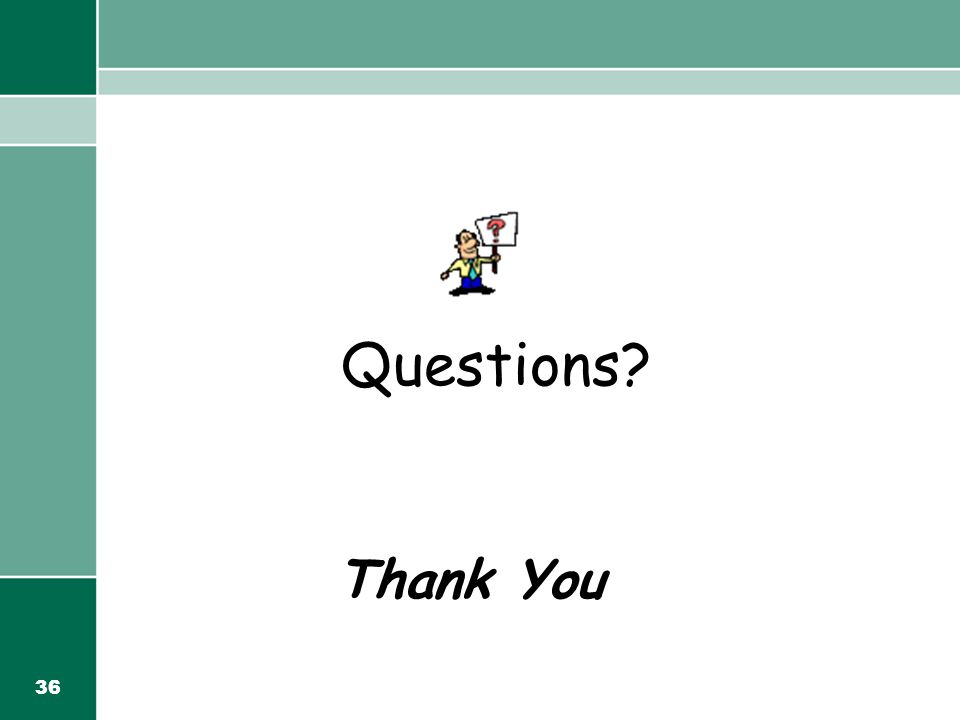 36 Questions Thank You
