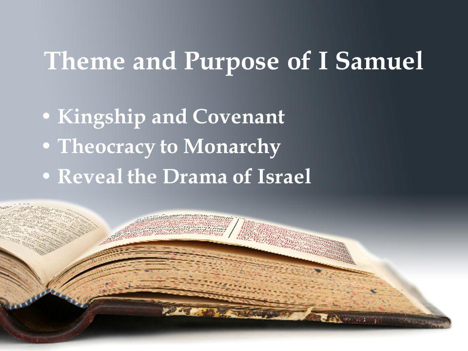 Theology of I Samuel: God's Sovereign Will and Power I Samuel 2:1-10