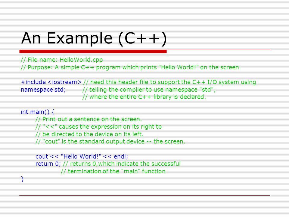 Principles of Object-Orientation  Principle 4.