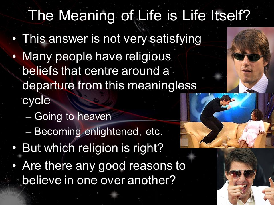 Is Life (in General) Meaningful.