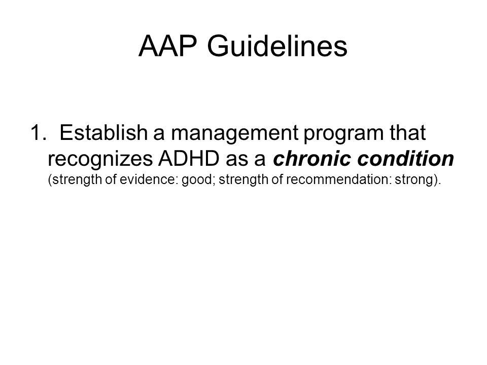 AAP Guidelines 1.