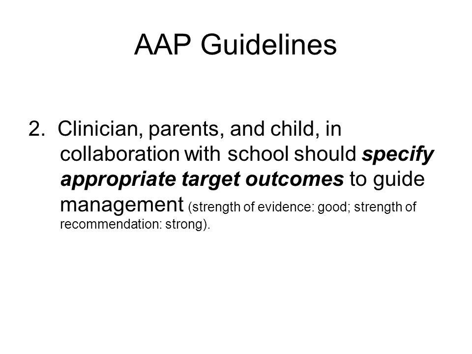 AAP Guidelines 2.
