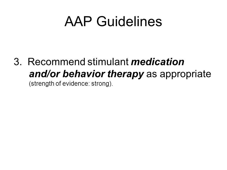 AAP Guidelines 3.