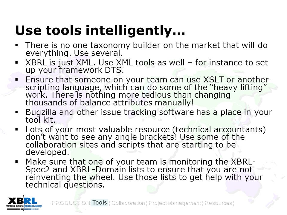 Use tools intelligently…  There is no one taxonomy builder on the market that will do everything.