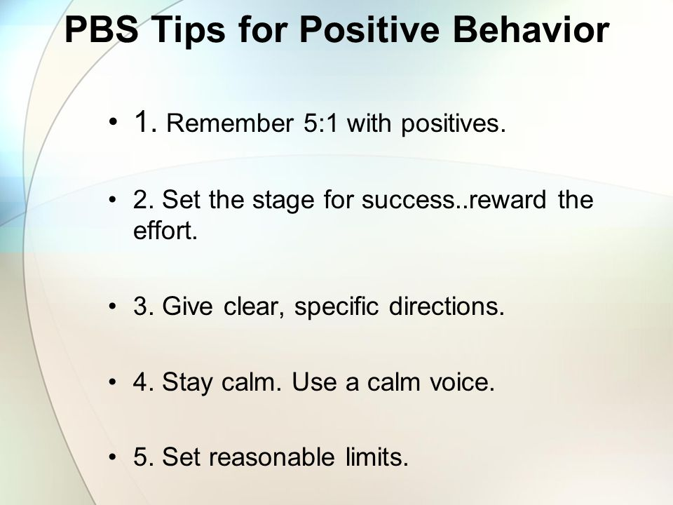 Remember… Positive Behavior Support is the redesign of environments, not the redesign of individuals. Positive Behavior Support asks us to change our