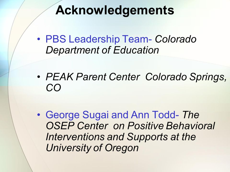 Supporting Children with Challenging Behavior: A Positive Behavior Approach Kiki Mc Gough Positive Behavior Support Coordinator Colorado Department of