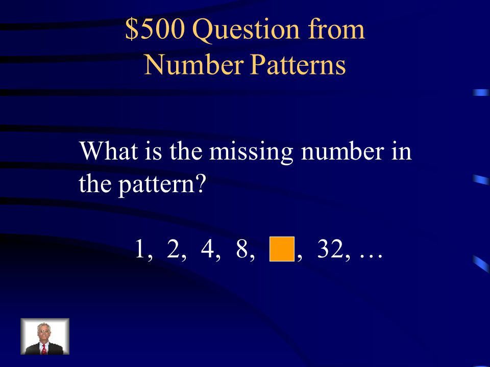 $400 Answer from Number Patterns 9