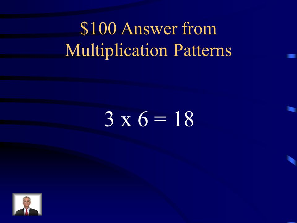 $100 Question from Multiplication Patterns Riley planted a flower garden with 3 rows.