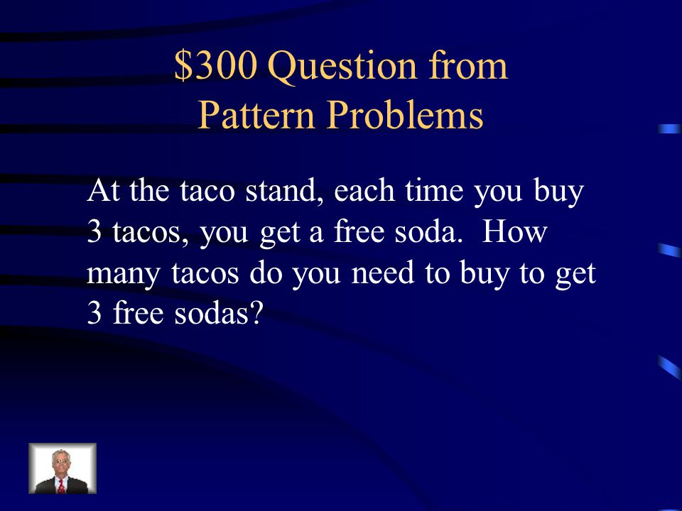 $200 Answer from Pattern Problems Multiply Input Number by 6