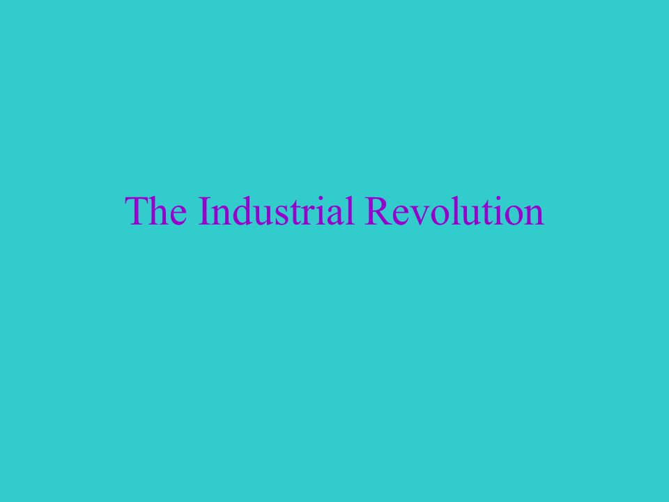Great Britain Industrialization- Process of developing machine production of goods First country to be industrialized, then spread to Continental Europe and North America Transformed the way people worked Machines began to do jobs that people used to do by hand