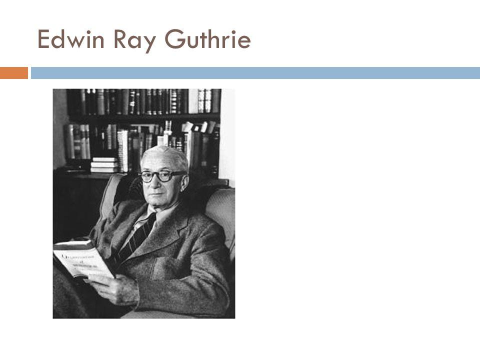 Edwin Ray Guthrie