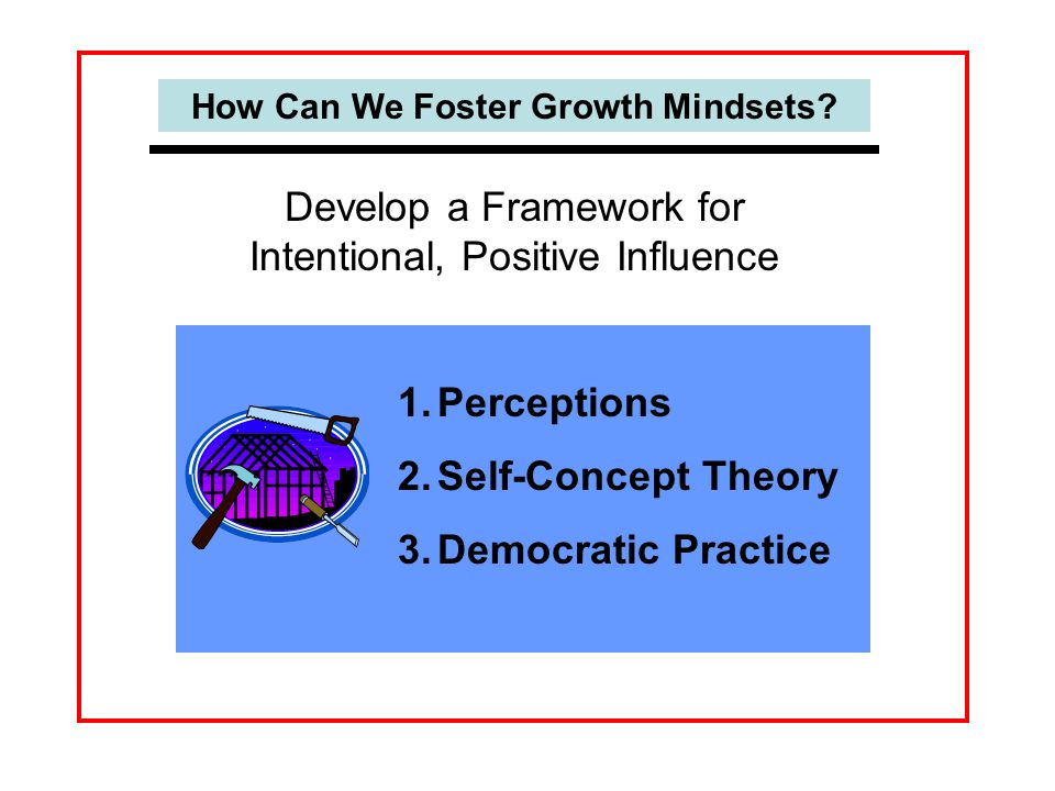 How Can We Foster Growth Mindsets.