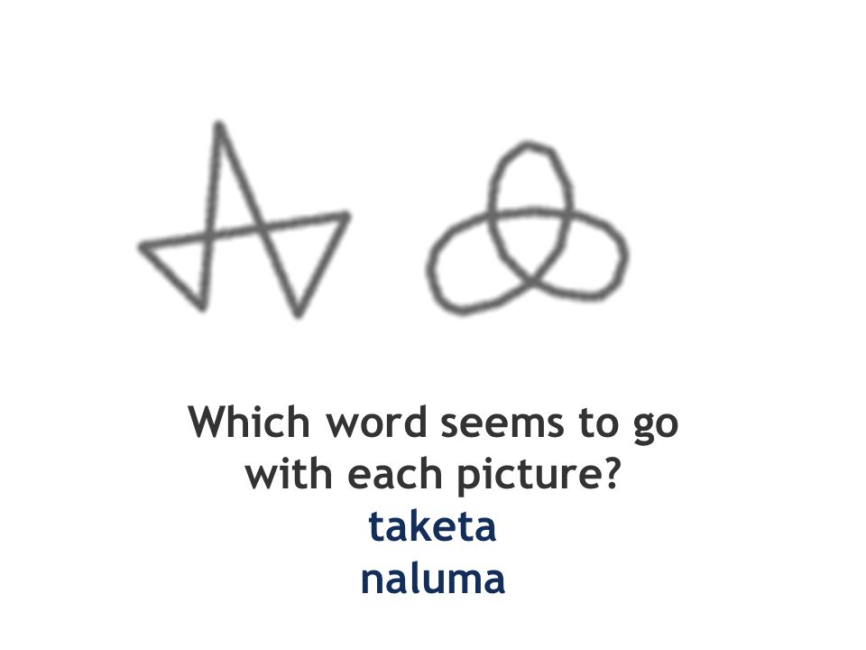 Which word seems to go with each picture taketa naluma