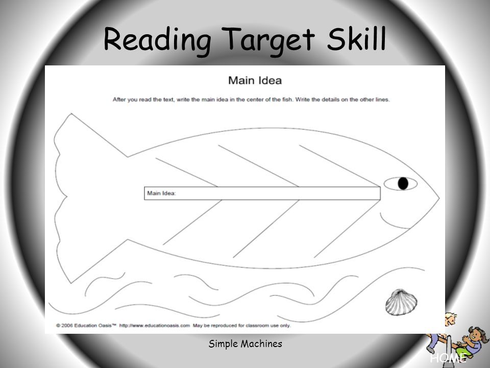 HOME Simple Machines Reading Target Skill