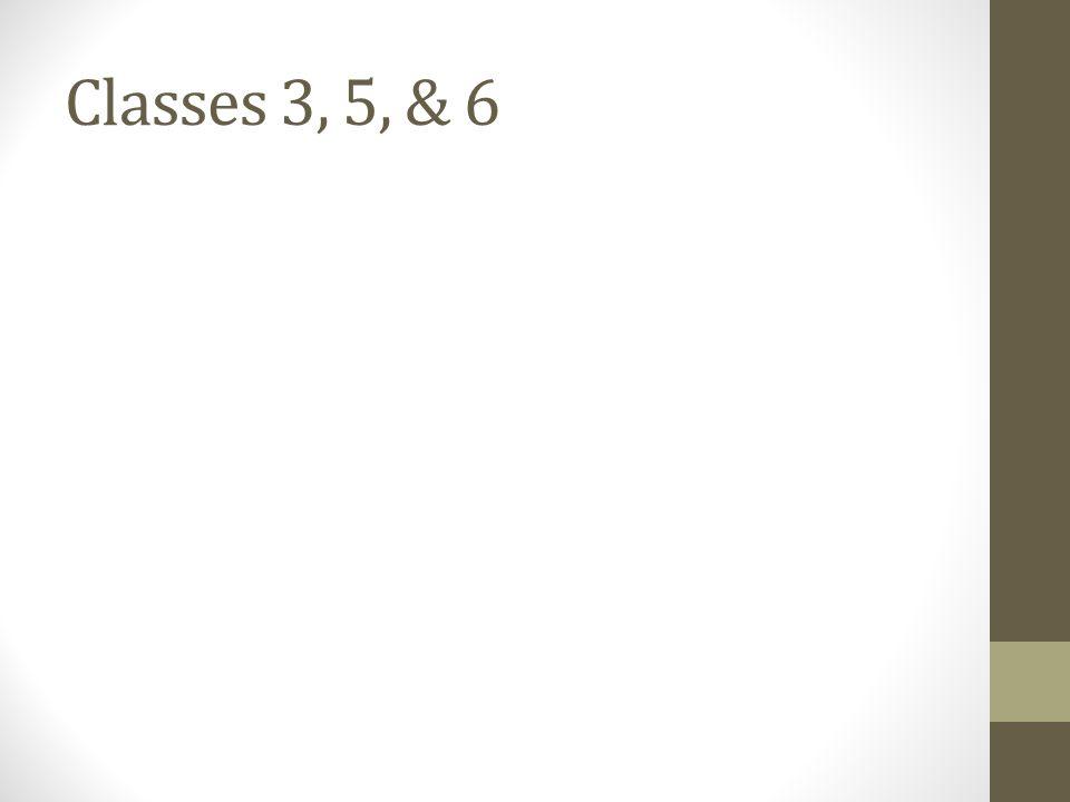 Classes 1& 2: Vocab activity