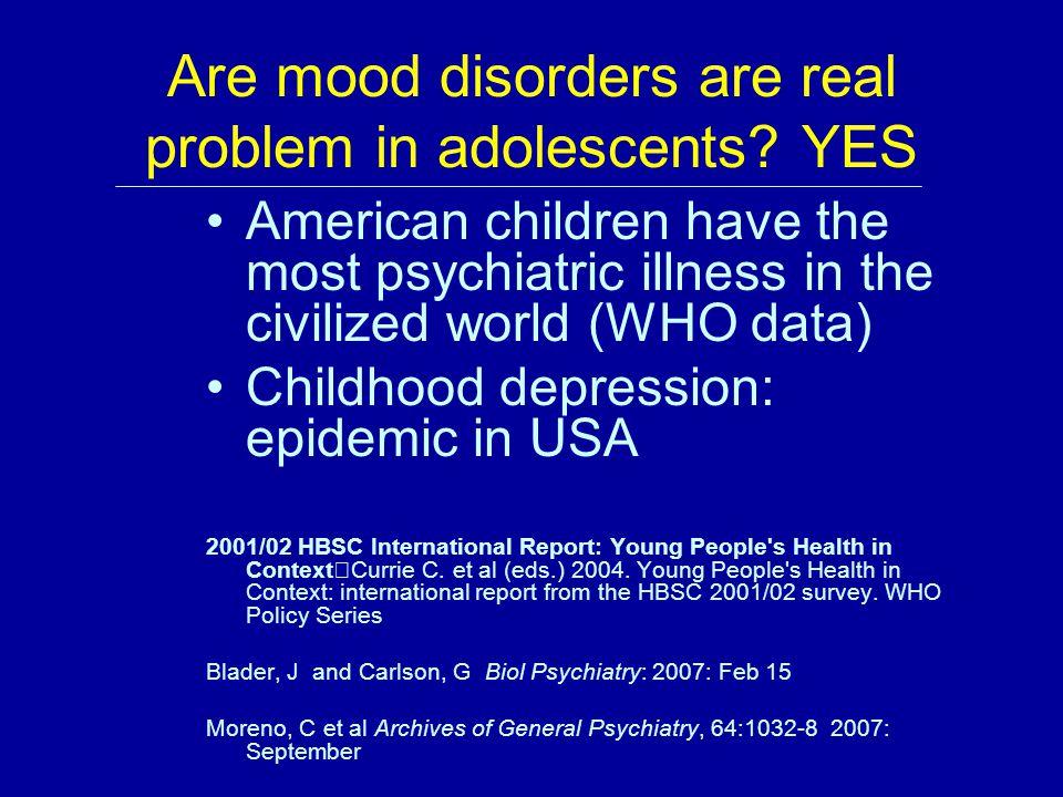 Definitions: Mental Health Most medical literature on mental health focuses on mental illness, eg.