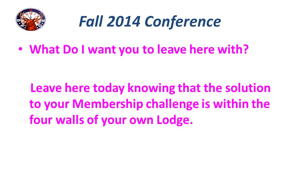 Internal Public Relations Communication Does your Membership know what you did at Grand Lodge?