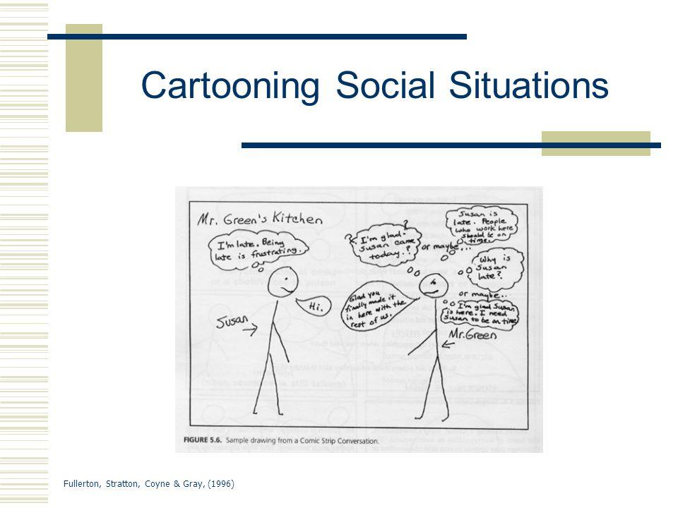 Fullerton, Stratton, Coyne & Gray, (1996) Cartooning Social Situations
