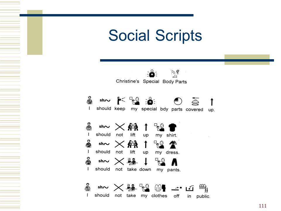 111 Social Scripts