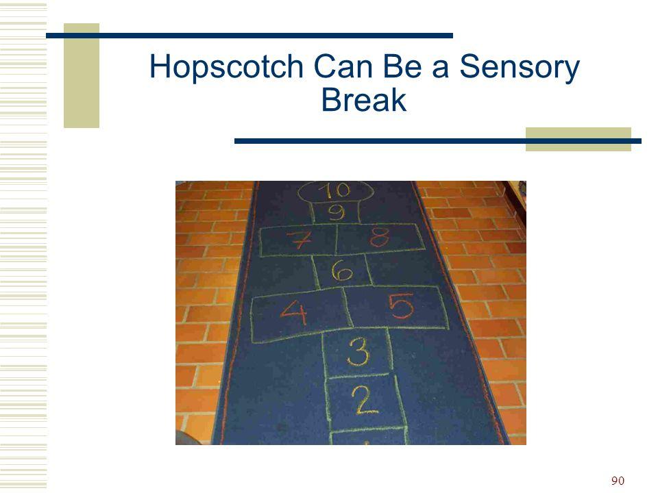 90 Hopscotch Can Be a Sensory Break