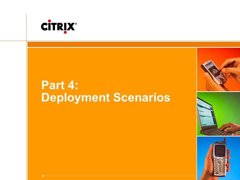 Part 4: Deployment Scenarios