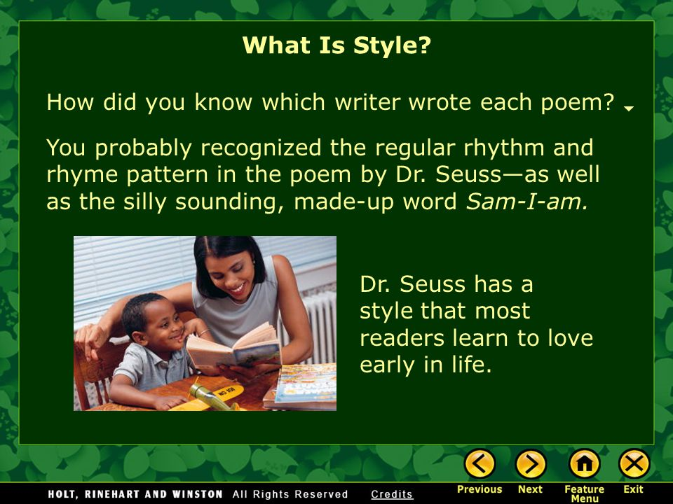 What Is Style? If you've ever read anything E. E. Cummings, you will probably recognize his unique style in this poem. who are you,little i who are yo