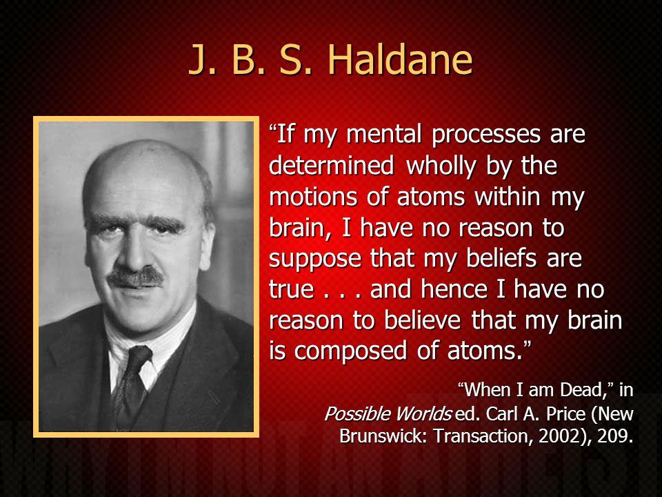 J. B. S.