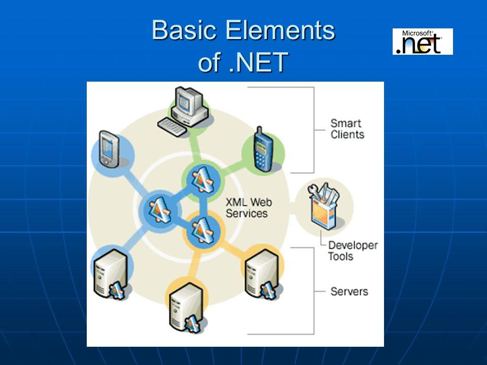 Basic Elements of.NET