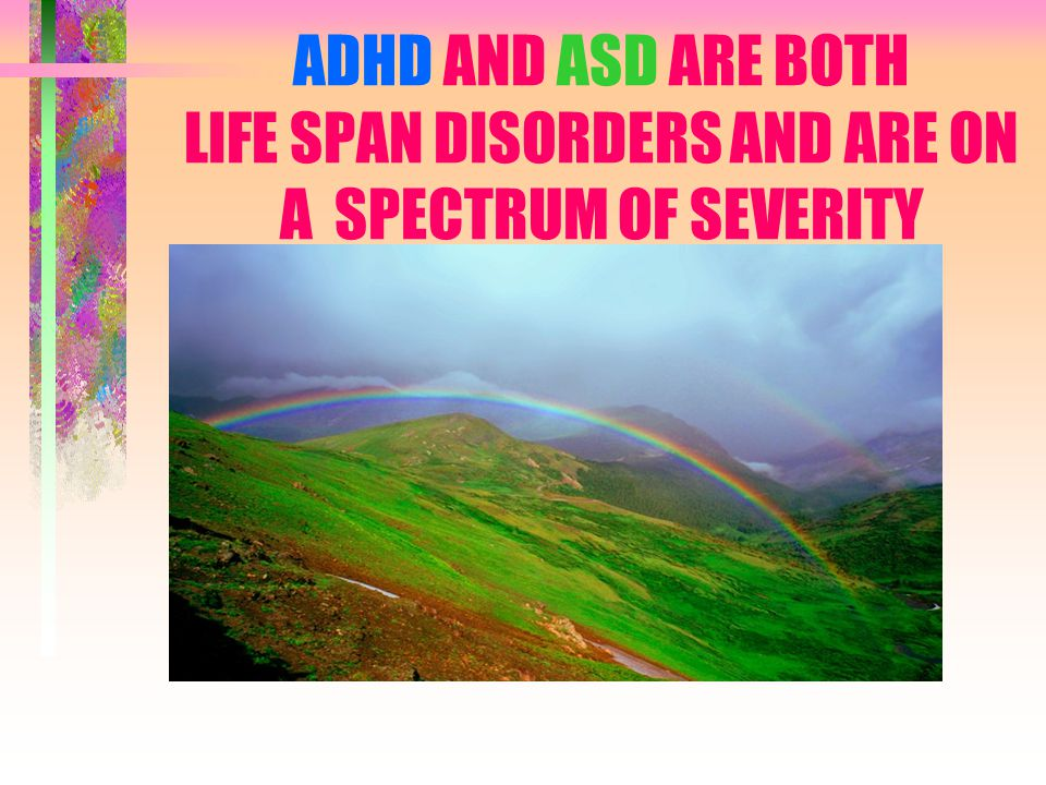 THEY ARE TWO DIFFERENT NEURODEVELOPMENTAL DISORDERS WITH OVERLAPPING FEATURES A CHILD CAN HAVE BOTH DIAGNOSES