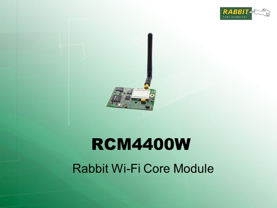 RCM4400W Rabbit Wi-Fi Core Module