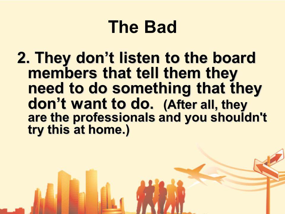 The Bad 2.