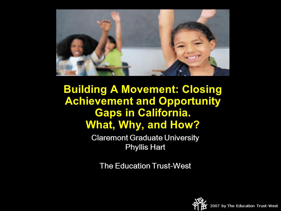 2007 by The Education Trust-West On Our Own Assessments?