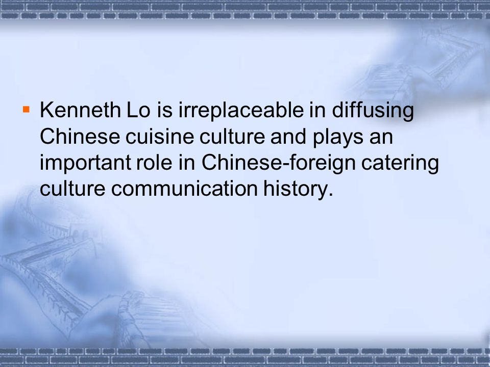 PPara7-9 (nature of Chinese food) -H-How does the writer explain that the traditional high-quality Chinese meal is a serious matter.