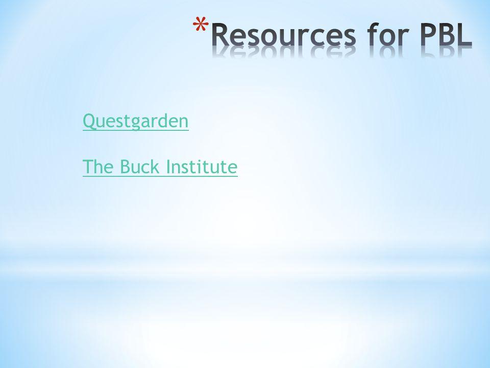 Questgarden The Buck Institute