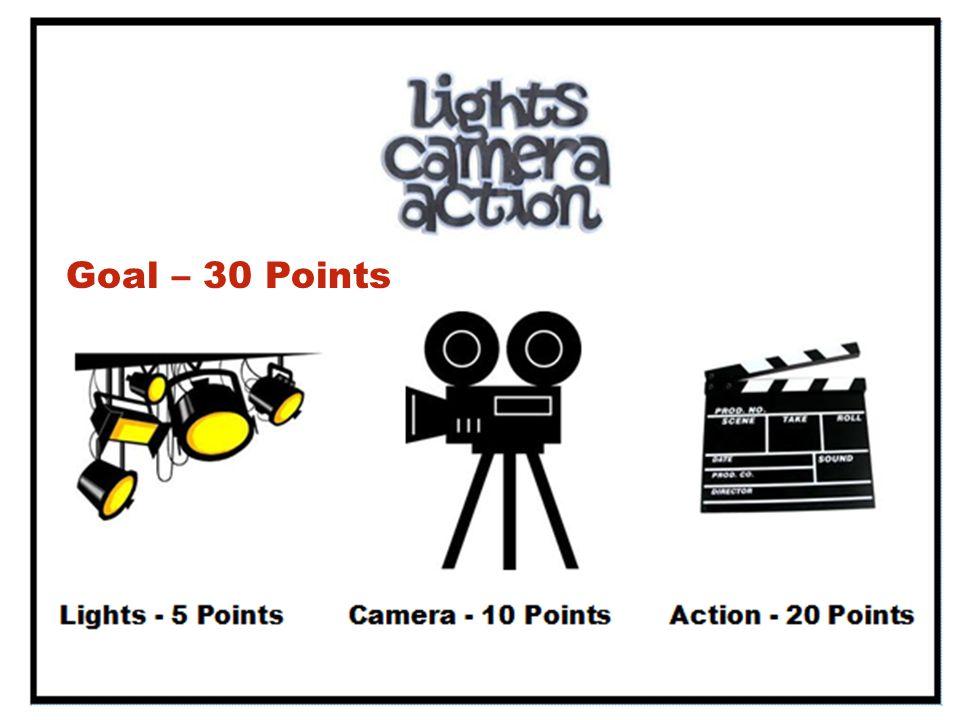 Goal – 30 Points