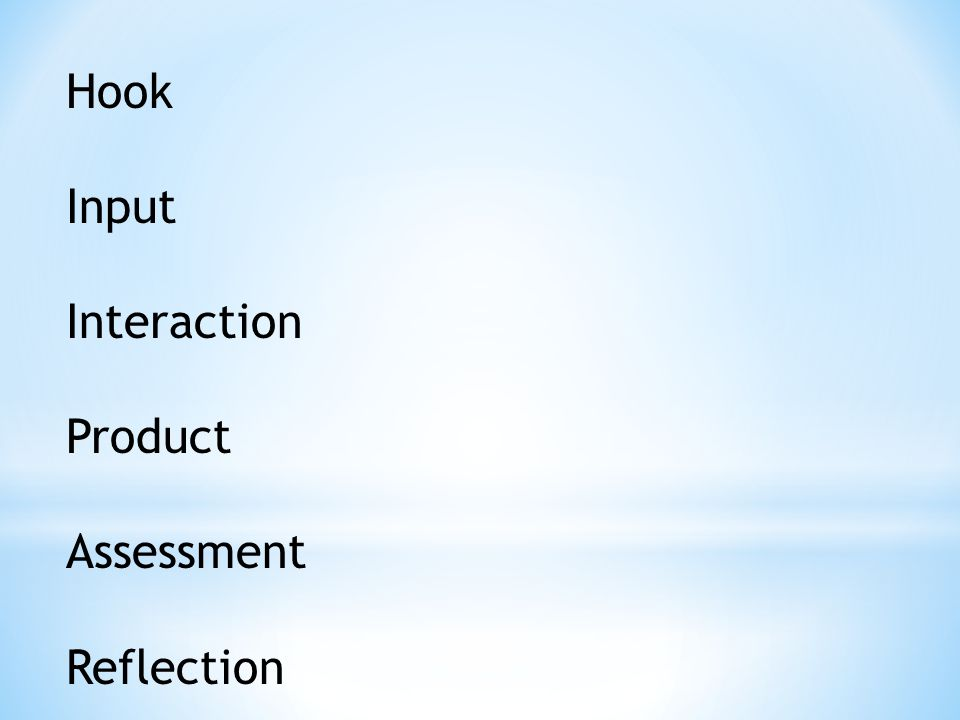 Hook Input Interaction Product Assessment Reflection