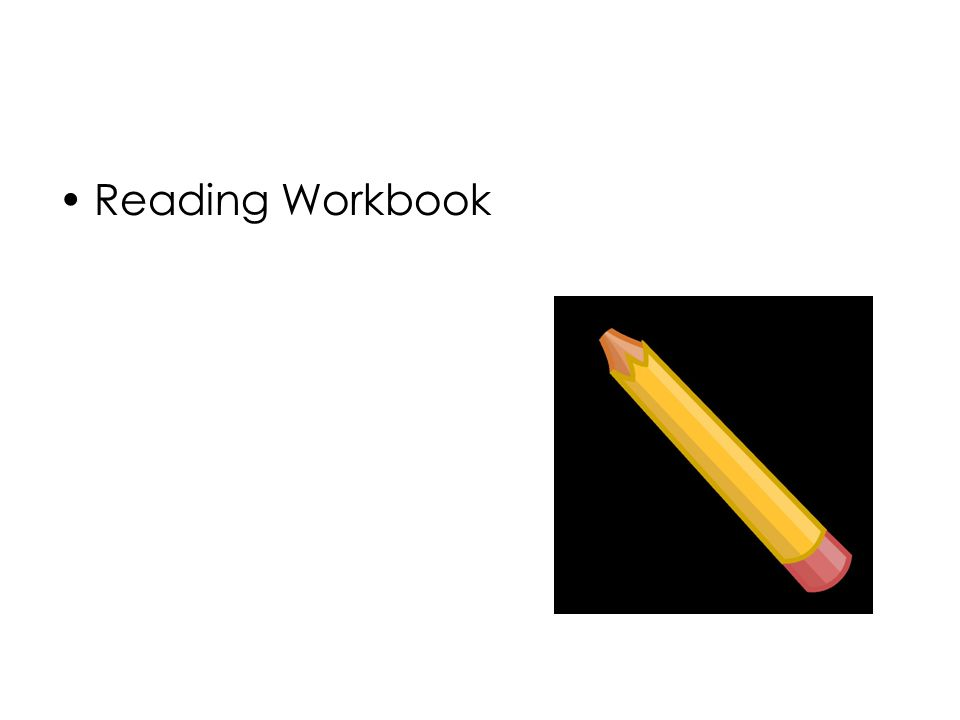 Reading Workbook