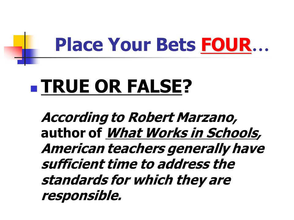 False! In the U.S., schools tend to emphasize coverage of material with many topic segments, rather than a limited set taught in depth. The U.S. curri