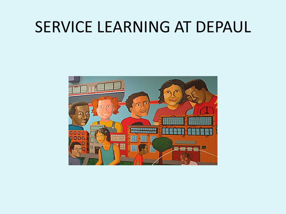 SERVICE LEARNING AT DEPAUL