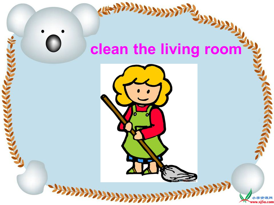 sweep the floor Do you do these things at home
