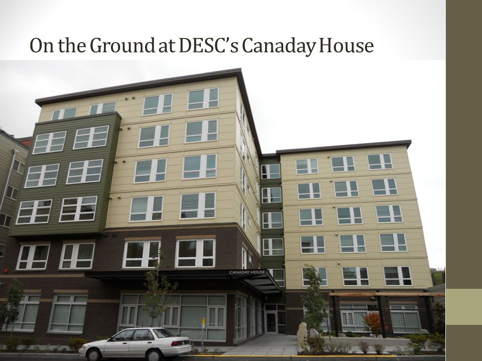 On the Ground at DESC's Canaday House