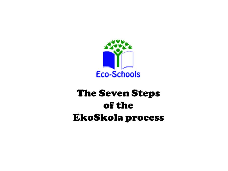 The Seven Steps of the EkoSkola process