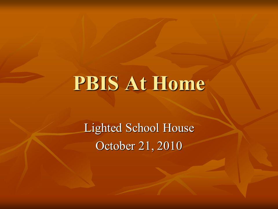 PBIS Tips for Positive Behavior At Home