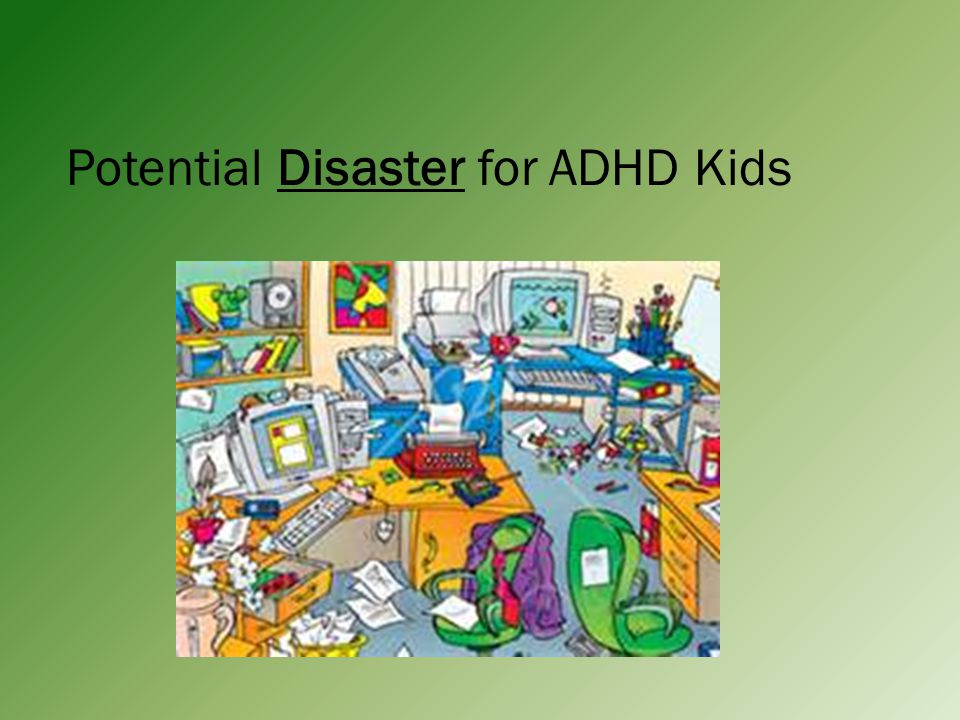 Potential Disaster for ADHD Kids