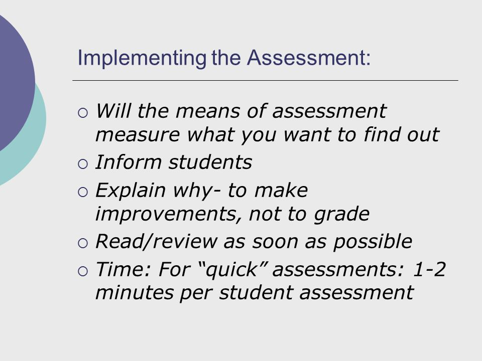 Criteria for Success Overall Primary total rating Component Secondary, more detailed.