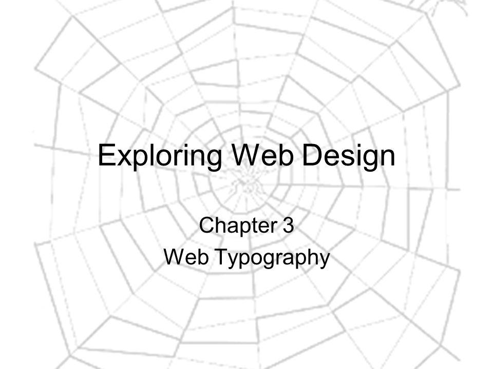 Typography Terminology (12) Sans Serif: sans = without.