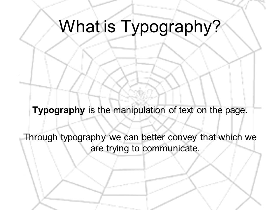 Typography Terminology (5) Baseline shift: setting your text below the baseline.