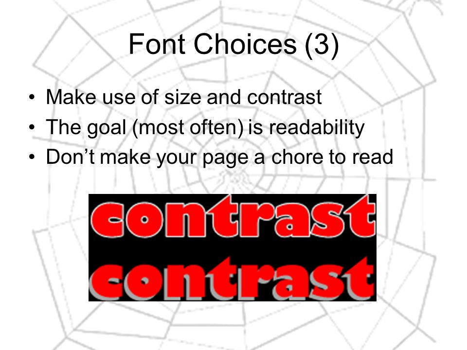 Typography Terminology (10) Scale: changes the height / width of text